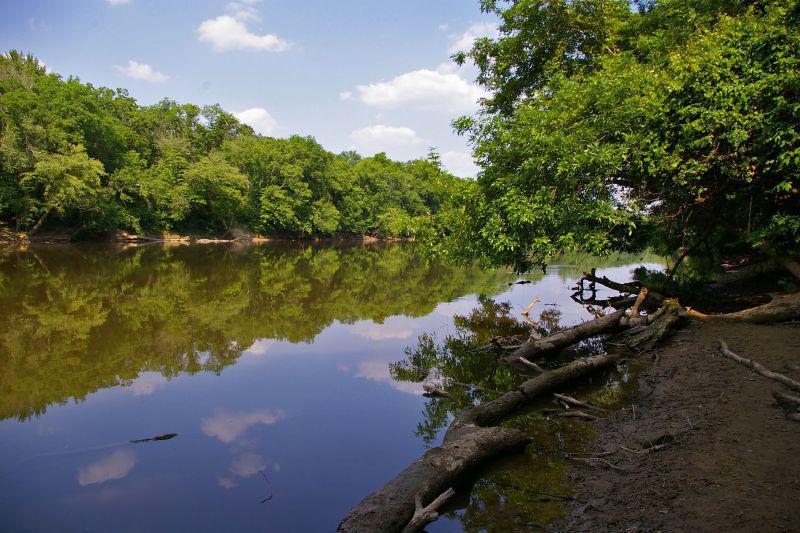 Cape Fear River at Raven Rock State Park NC