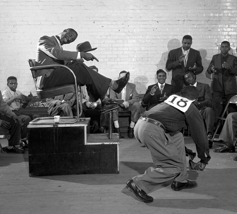 This is the first time that these images, of the 1952 Wilson NC Shoeshine Contest, have been made public.