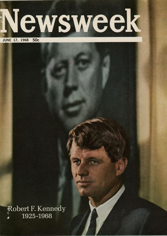 Robert F. Kennedy, Newsweek Cover June 17, 1968