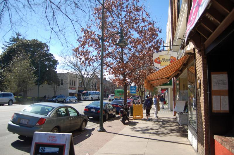 Franklin Street in Chapel Hill