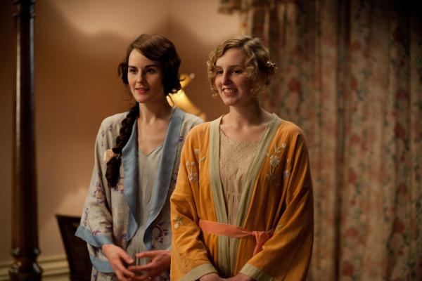 Mary and Edith Crawley from Downton Abbey
