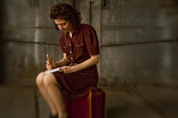 Susan Stein as Etty Hillesum.