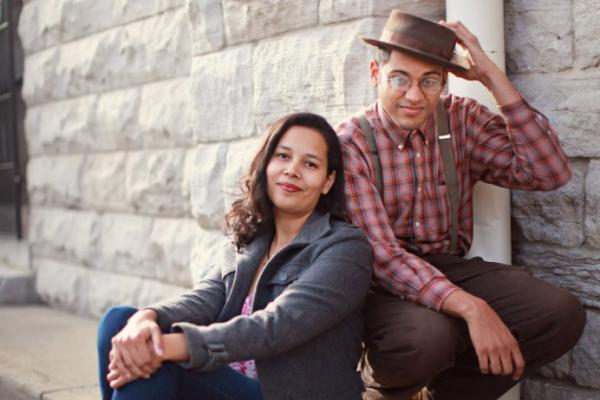 Carolina Chocolate Drops co-founders Rhiannon Giddens and Dom Flemmings