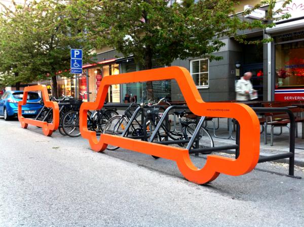 orange car design
