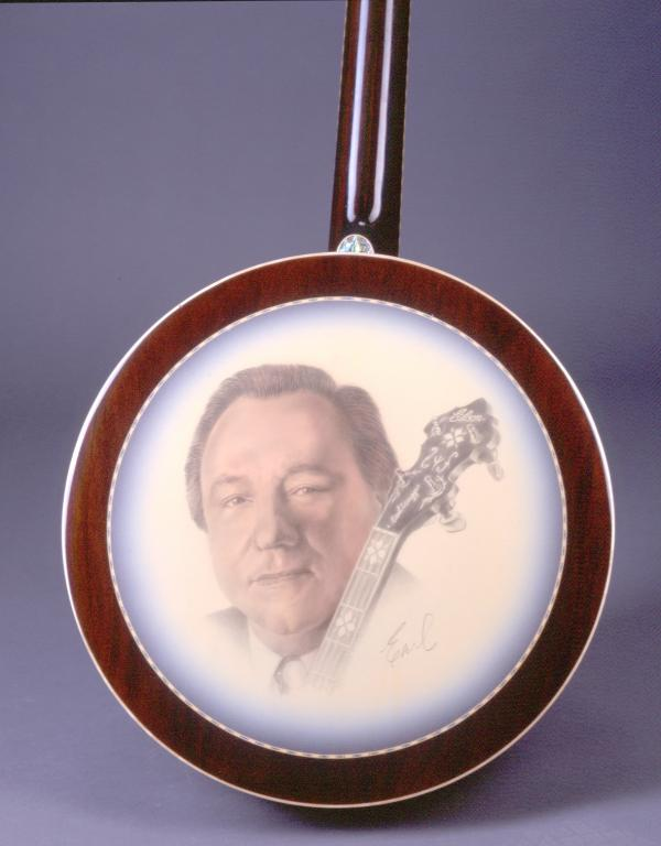 Back of The Super Earl banjo