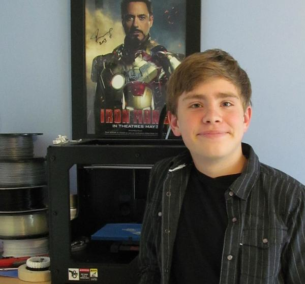 Chase Lewis, 14-year old inventor with two life-saving patents and more to come.