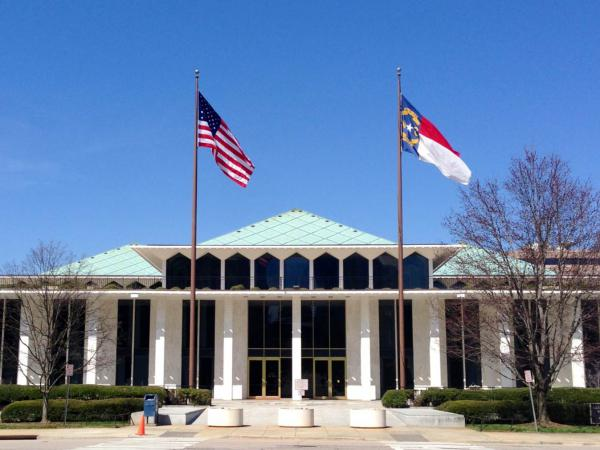 Photo: The North Carolina General Assembly's Legislative Building