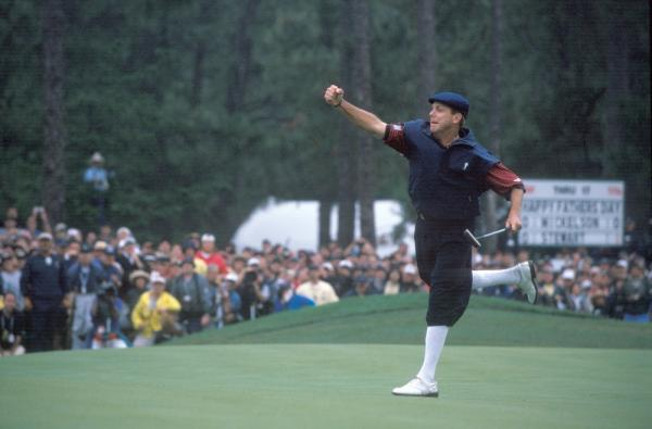 Payne Stewart during the fourth round of the 1999 U.S. Open Championship held at Pinehurst Resort and Country Club No. 2 Course in Pinehurst, N.C., Sunday, June 20, 1999.