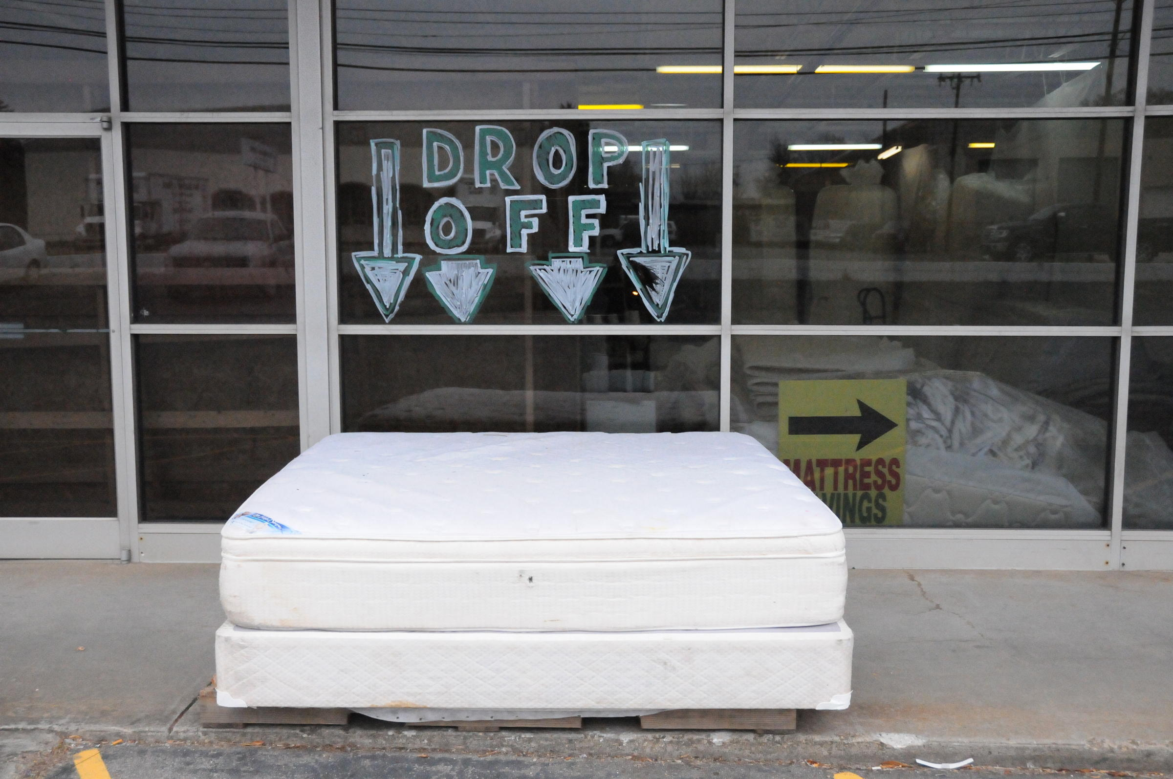 mattress recycling. Purpose Recycling Is Paid To Receive Discarded Mattresses At Its Greenboro Warehouse. The Company Strips Off Materials And Resells Them. Mattress
