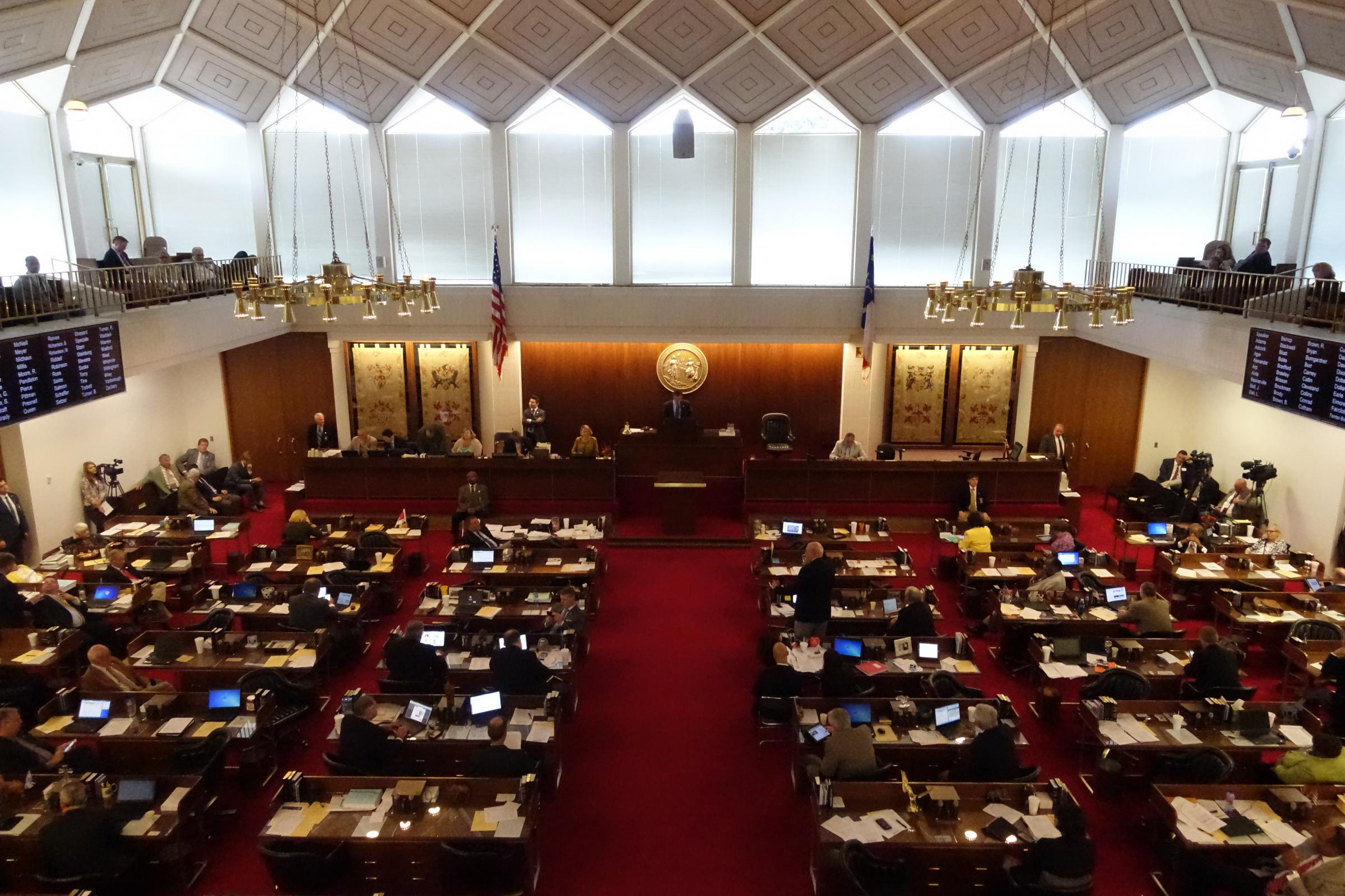 Legislators approve medicaid privatization plan wunc for The house raleigh