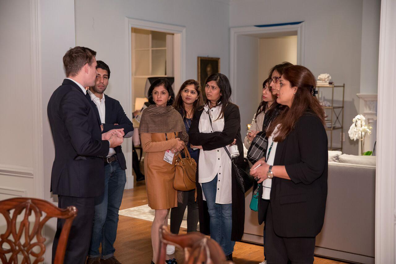 A Delegation Of Architects And Interior Designers From India Visited The  High Point Furniture Market In April. They Met With Several Interior  Designers And ...