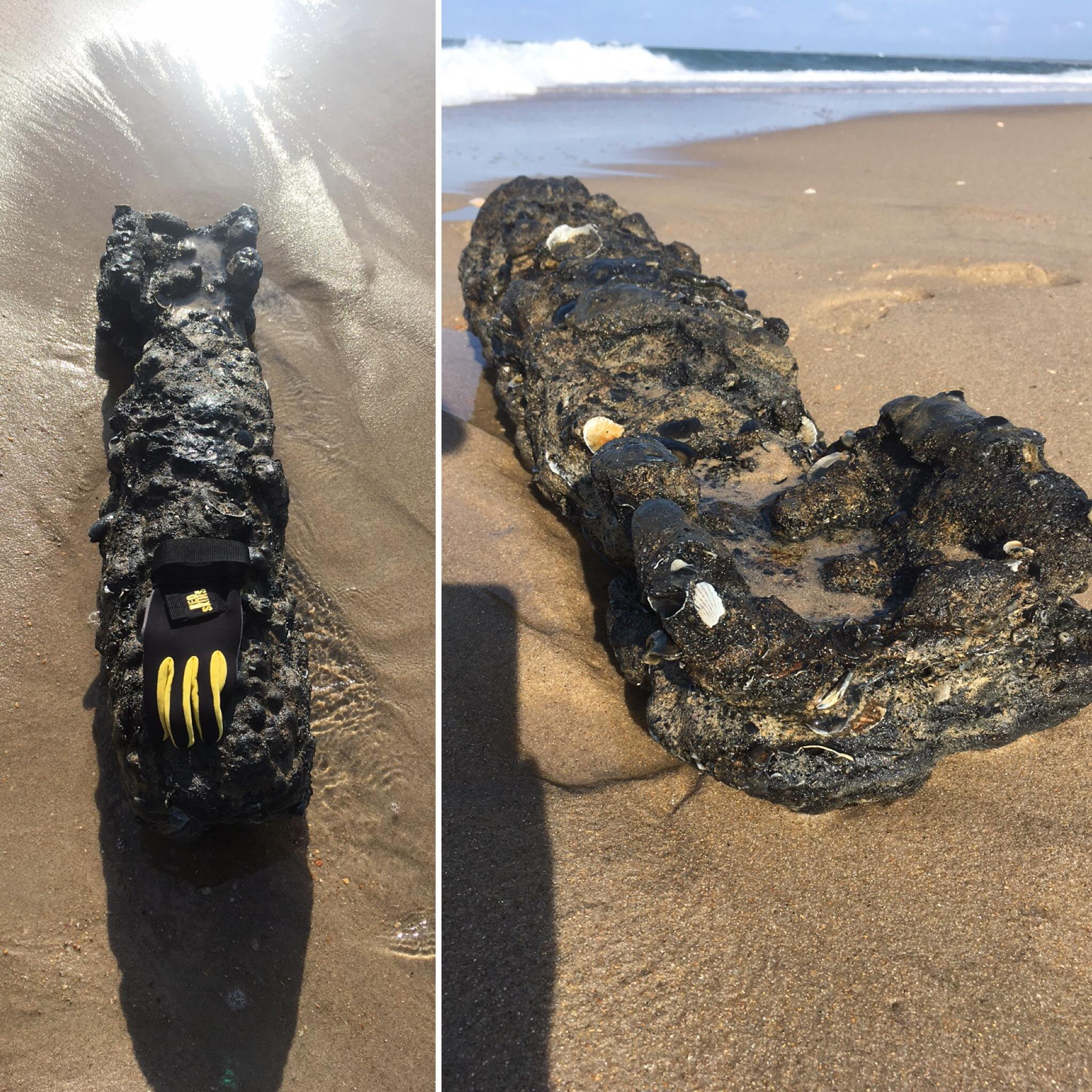 Unknown military item found on new North Carolina island