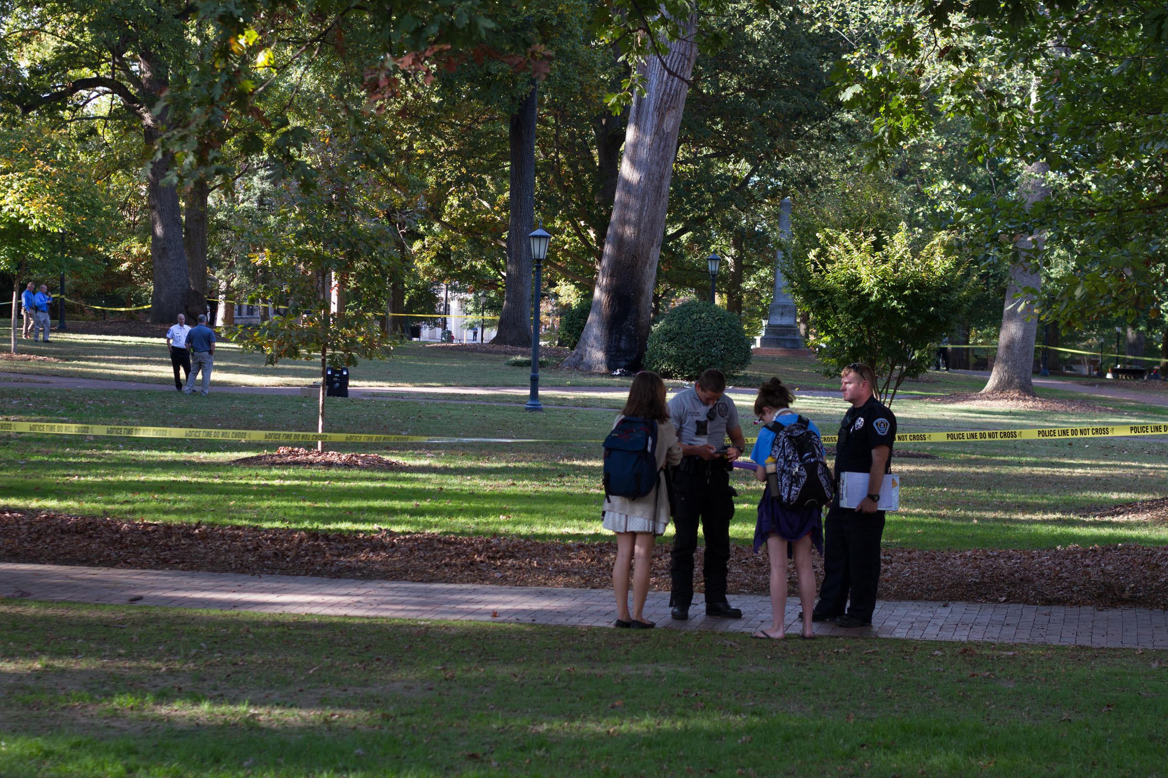 Device detonated at Davie Poplar tree on UNC's campus