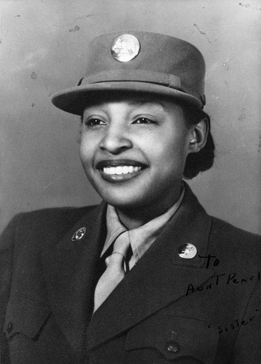 4197397cd36 Member Of All Black Female WWII Battalion Turns 100