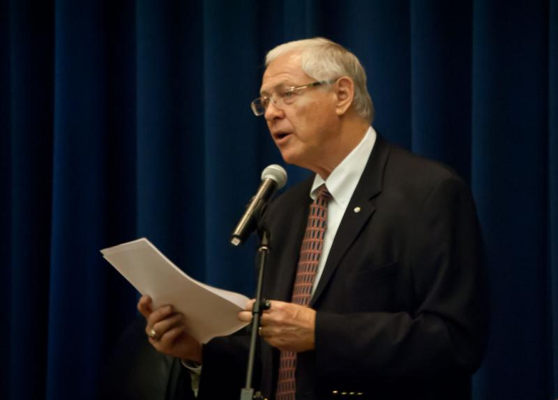 Supervisor Michael D. Antonovich says providing more county-funded work opportunities to veterans makes economic sense.