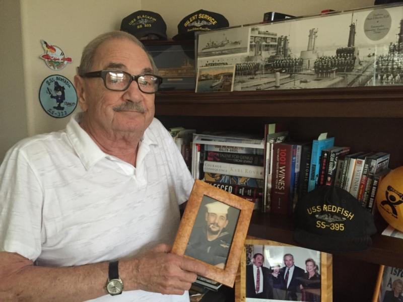Navy veteran Dick Oliver lives in Westchester, California.