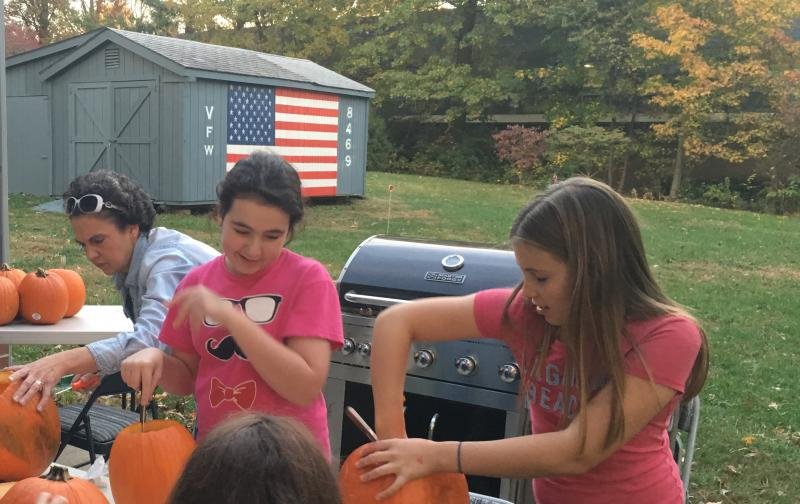 VFW Post 8469 in Fairfax, Va. is holding pumpkin-carvings and other events to try to become more family-friendly.