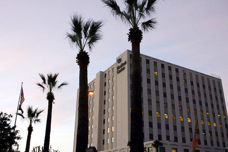 The V.A. Medical Center in Long Beach, Cal. is one of roughly 1700 medical facilities where veterans are being asked for DNA samples.