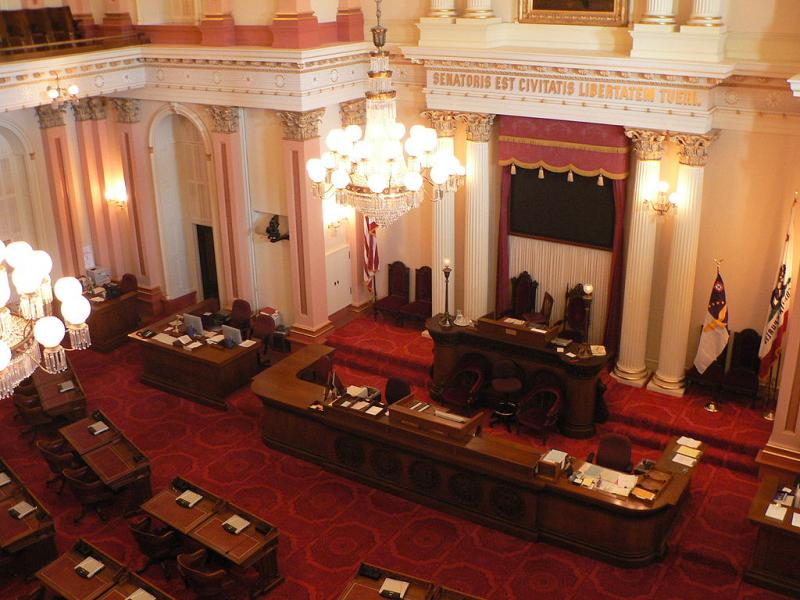 Just six percent of California legislators have served in the military, one of the lowest percentages in the U.S.