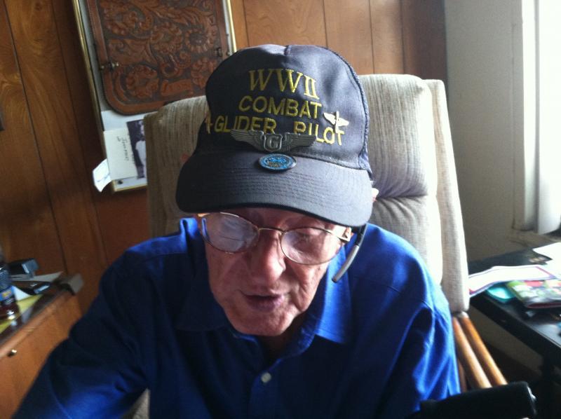 Leonard Stevens is one of the last living World War II glider pilots.