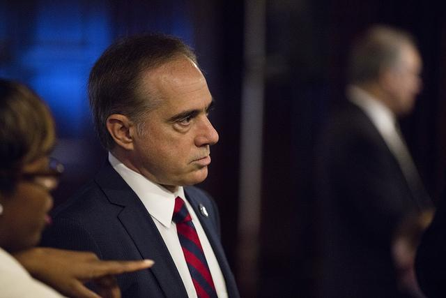 Dr. David Shulkin faces a Senate confirmation hearing for the position of Secretary of Veterans Affairs.