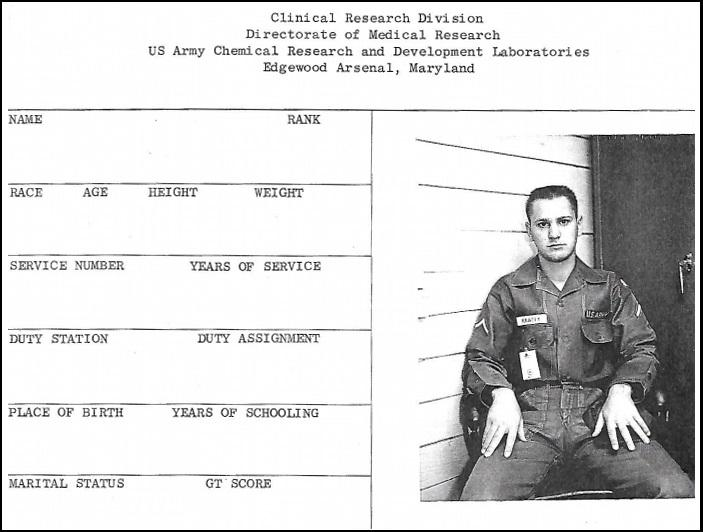 Bob Krafty was just out of his teens when he was offered temporary duty at Edgewood Arsenal in 1965.