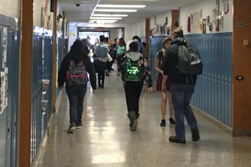 More than sixty percent of the students at Indian River Central School in Philadelphia, New York, are from military families.
