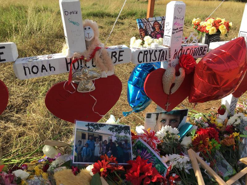 The Holcombe family, which lost nine members in the Sutherland Springs shooting, has filed a wrongful death claim against the Air Force.
