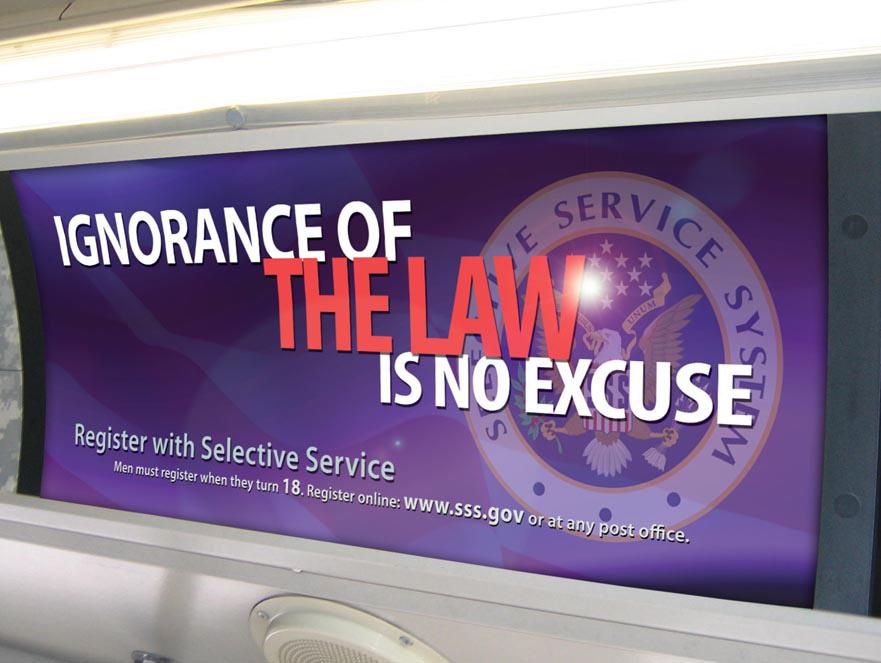 I have a question about Selective Services?