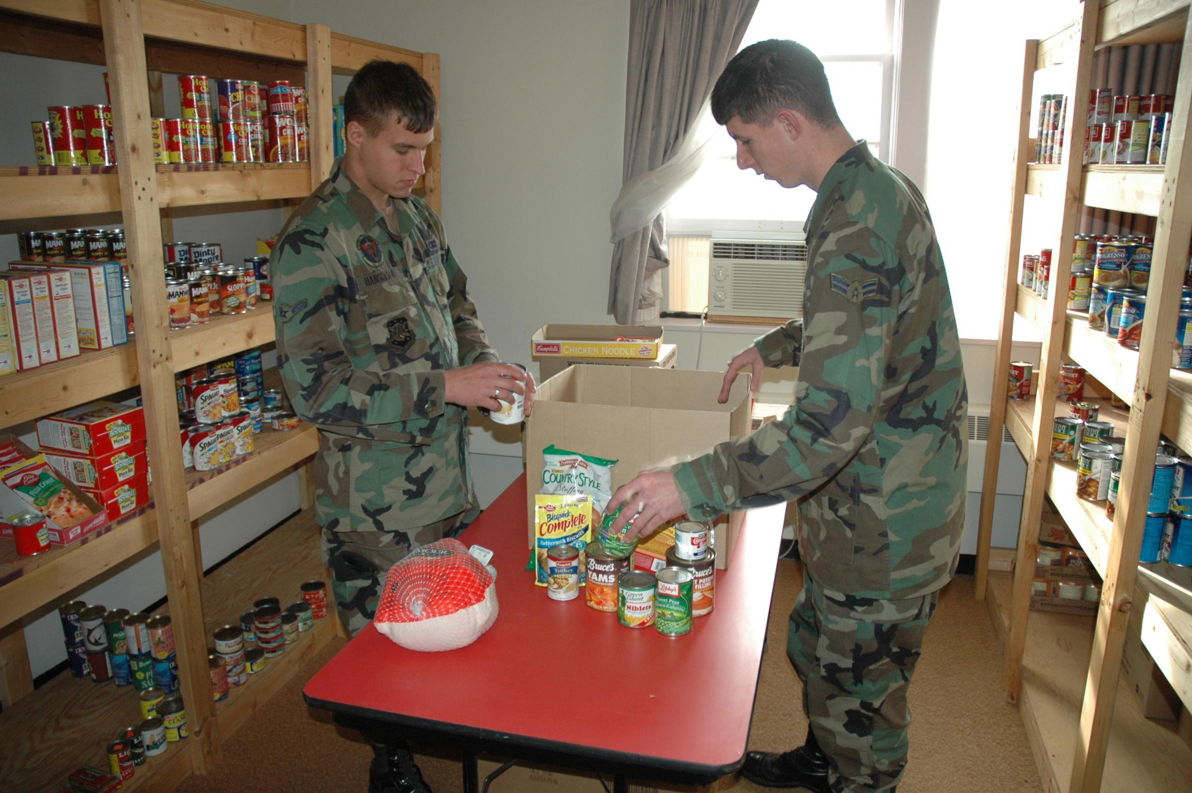 How Many Military Families Need Food Assistance The Pentagon