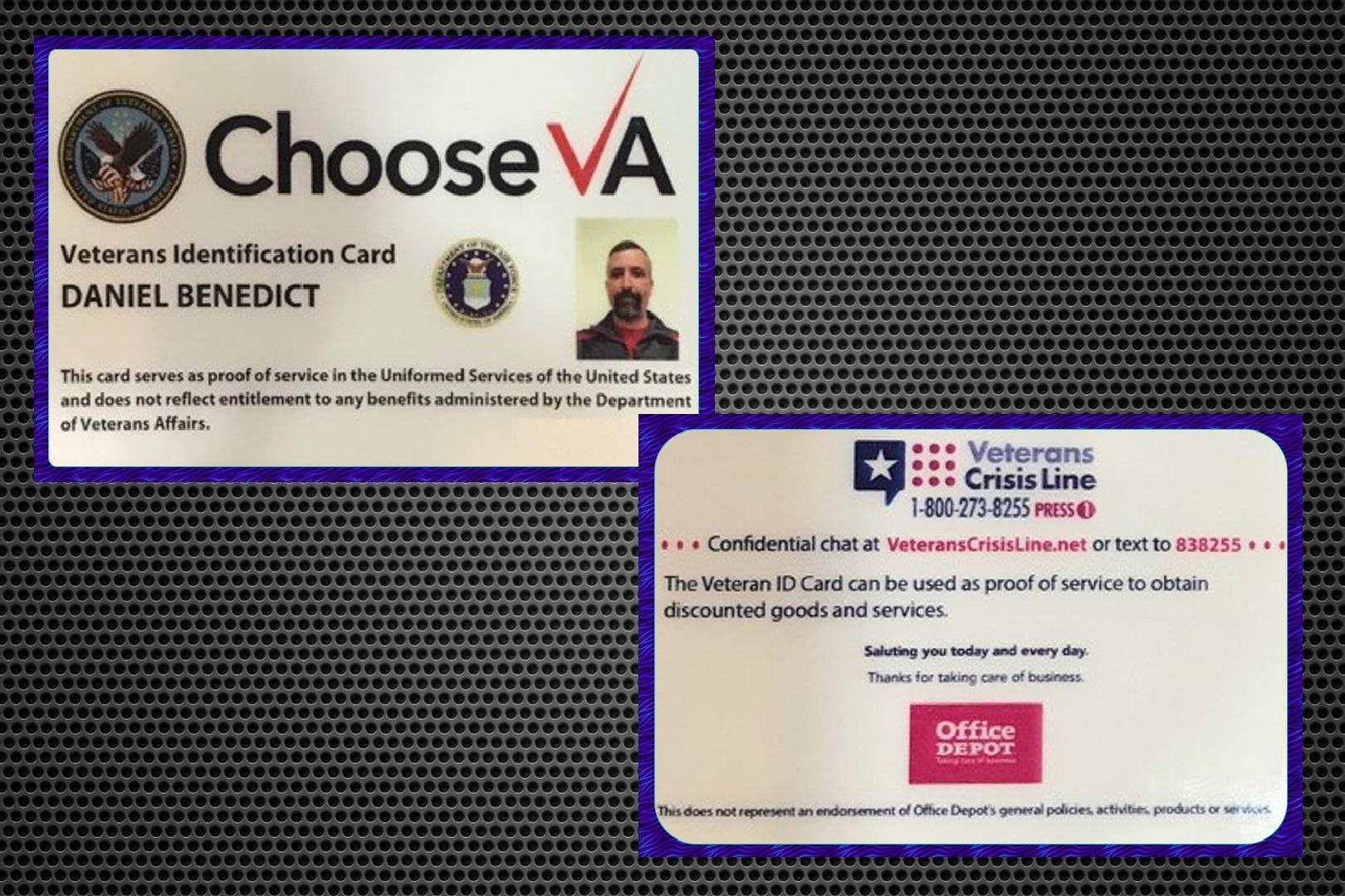 Va Issues Long Awaited Veteran Id Card But It Comes With An Ad On