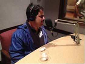 Test WUOT's microphones like Joe Castorina did last year.