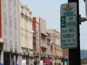 Parking signs on Gay Street say there's a two-hour limit, but the limit is rarely enforced.  That's about to change.