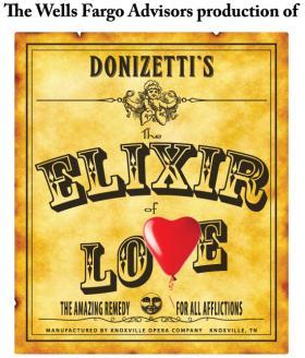 "Donizetti's comic opera, ""L'elisir d'Amore"""