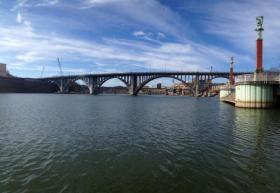 Knoxville's Henley Street Bridge.
