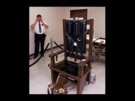 "Tennessee's electric chair, nicknamed ""Old Sparky"" is seen in this 1999 photo."