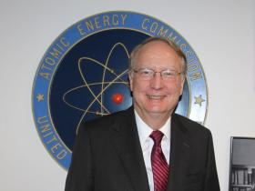 NNSA Administrator Frank Klotz is pictured at his swearing-in ceremony, April 17, 2014.