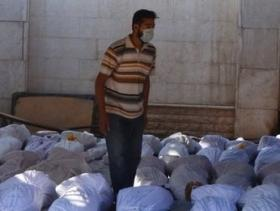 An August 2013 sarin gas attack in Syria left hundreds dead and thousands injured.