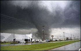 EF-3 tornado, Murfreesboro, Tennessee, 2009