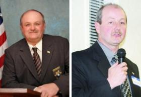 Monroe County Sheriff Bill Bivens (left) and challenger Randy White (right).