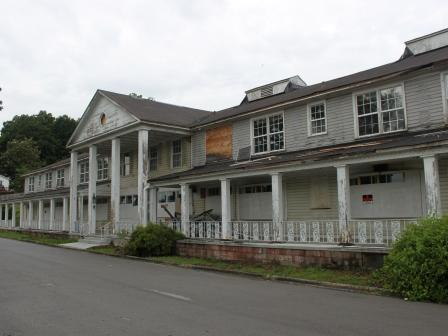 The neglect and dilapidation is evident in the May 2013 photo