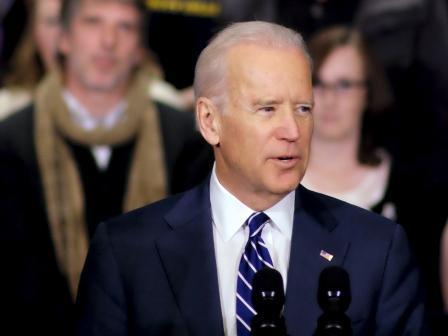 Vice President Joe Biden addresses a crowd at Pellissippi State Community College (Jan 9, 2015)