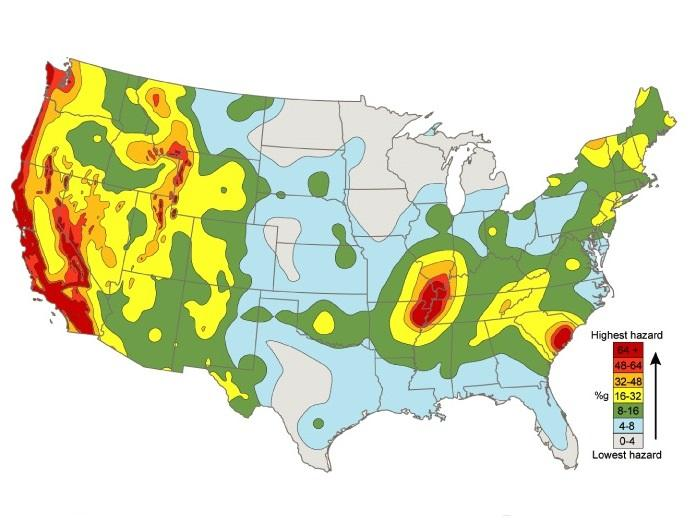 US Geological Survey Raises East Tennessees Earthquake Risk WUOT
