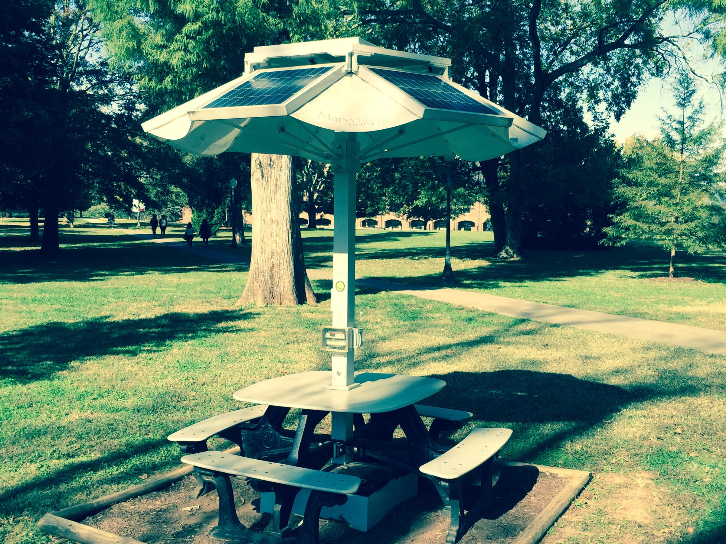 The Method Science Above And Below Ground WUOT - Solar picnic table