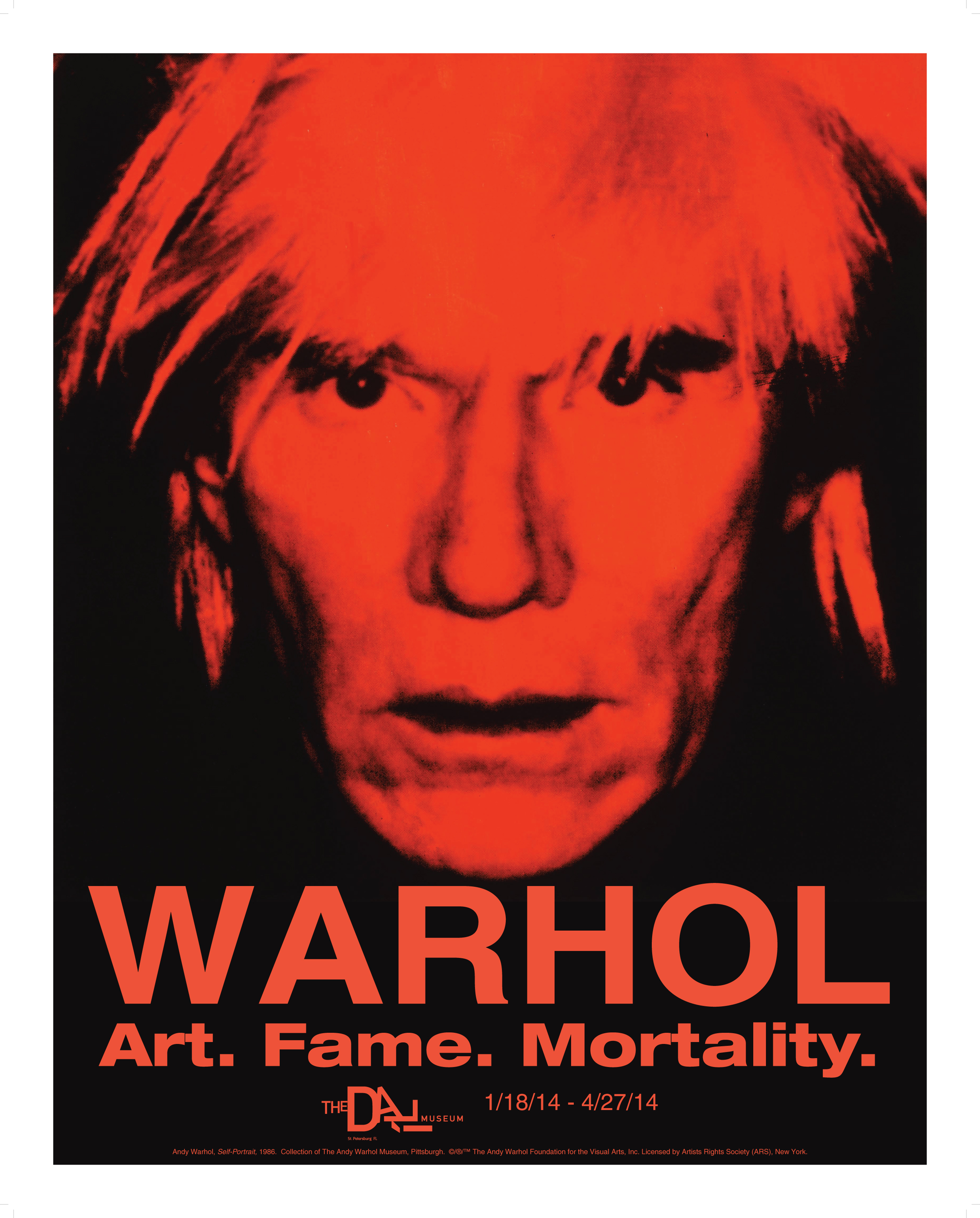 Warhol the flatness of fame