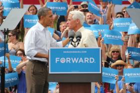 Charlie Crist, former Republican governor of Florida, came out in support of President Barack Obama in an Aug. 26 Tampa Bay Times editorial.