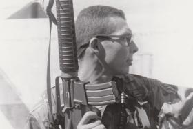 Green Beret and author Tony Schwalm