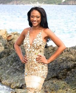 Aniska Tonge, Miss Virgin Islands 2012 and USF graduate, will compete in this weekend's Miss America pageant.