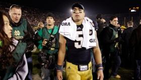 Notre Dame linebacker Manti Te'o claimed his online girlfriend, 'Lennay Kekua,' died of cancer last year. An investigation by Deadspin.com revealed that Kekua never existed.
