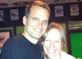 Master Sgt. Erik Johanson and Jennifer, his wife.